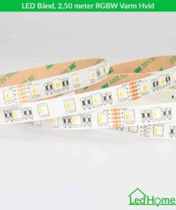 LED Bånd - 2,50 meter - RGBW Varm Hvid - LB-RGBWW27-IP20 | LEDHome.dk