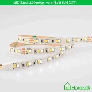 LED Bånd 2,50 meter varm-kold hvid (CTT) - LB-WW24W60-IP20-1