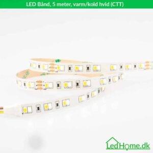 LED Bånd 5m varm-kold hvid (CTT) - LB-WW24W60-IP20-2