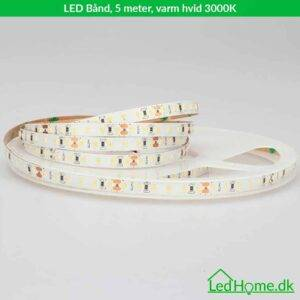 LED Band 5 meter varm hvid 3000K - LB-WW30-1